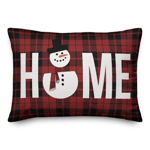 Torrens Snowman Home Lumbar Pillow