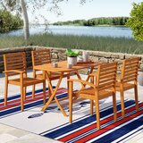 Sabbattus Seva 5 Piece Dining Set