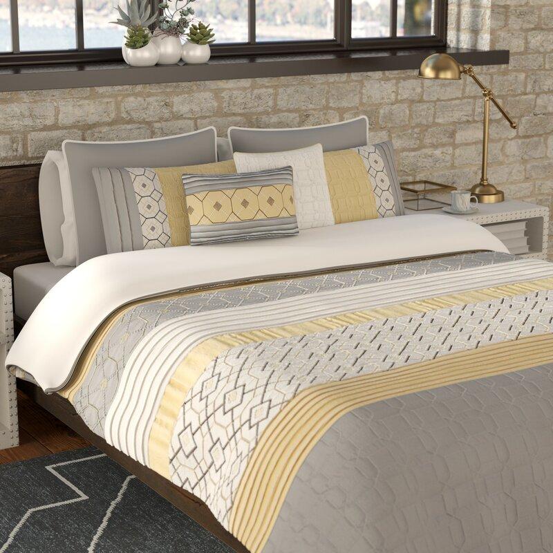 Slattery 7 Piece Comforter Set