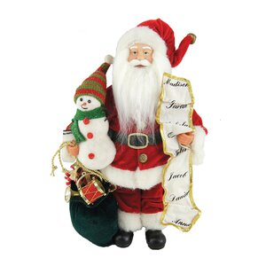 Santa & Frosty Too Figurine & Collectible