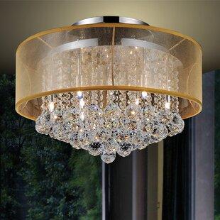 12-Light Flush Mount by CWI Lighting
