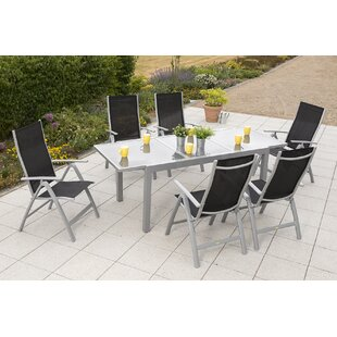 Vallee 6 Seater Dining Set By Sol 72 Outdoor