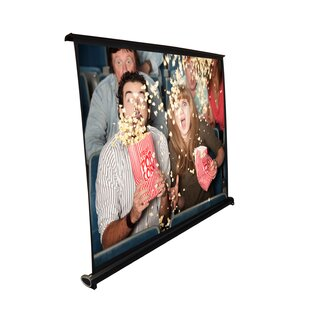 Black 40 Manual Projection Screen by Pyle