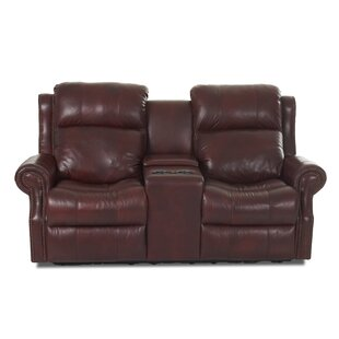 Bargain Defiance Leather Reclining Sofa by Red Barrel Studio Reviews (2019) & Buyer's Guide