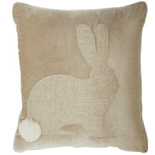 Sacks Bunny Throw Pillow