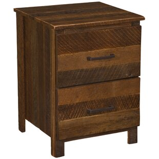 2 Drawer Nightstand by Fireside Lodge