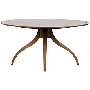 Noir Vera Solid Wood Dining Table