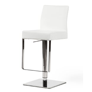 Orren Ellis Emert Hydraulic Adjustable Swivel Bar Stool