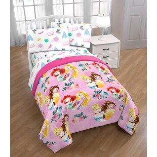 Disney Princess Sassy Reversible Comforter Set