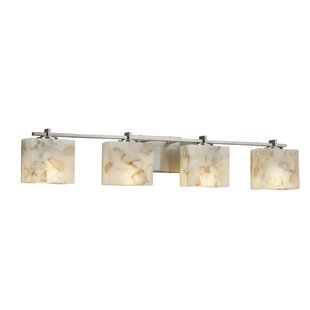 Check Prices Conovan 4-Light LED Vanity Light By Rosecliff Heights