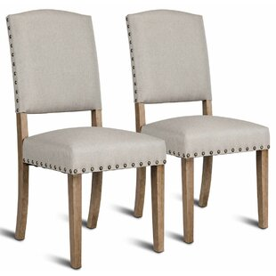 Gorgas Upholstered Dining Chair (Set of 2..