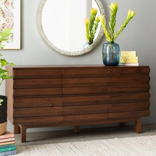 Online Reviews Burrows 6 Drawer Dresser By EQ3