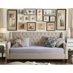 Pennington Twin Size Tufted Daybed Mistana