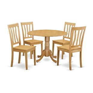 Spruill 5 Piece Dining Set August Grove