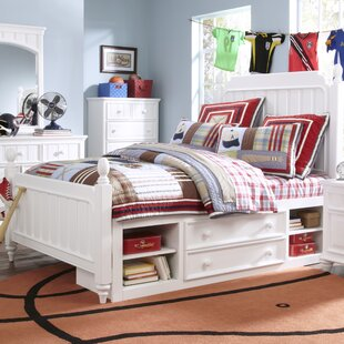 Viv + Rae Tyquan Panel Bed with Storage