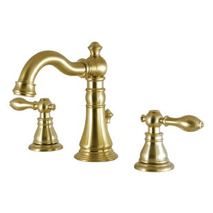 Kingston Brass Victorian Widespread Bathroom Faucet with Drain Assembly