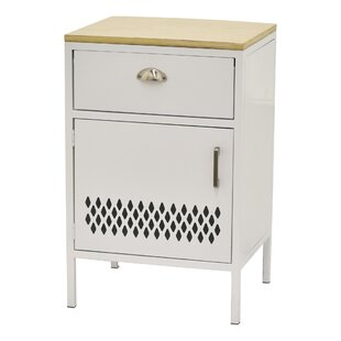 Ronni Metal Accent Cabinet by Latitude Run