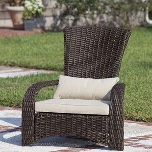 PatioSense Deluxe Coconino Wicker Chair w..