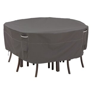Water Resistant Round Patio Dining Set Cover