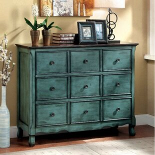 Bloomsbury Market Barraclough Wooden Accent 9 Drawer Chest