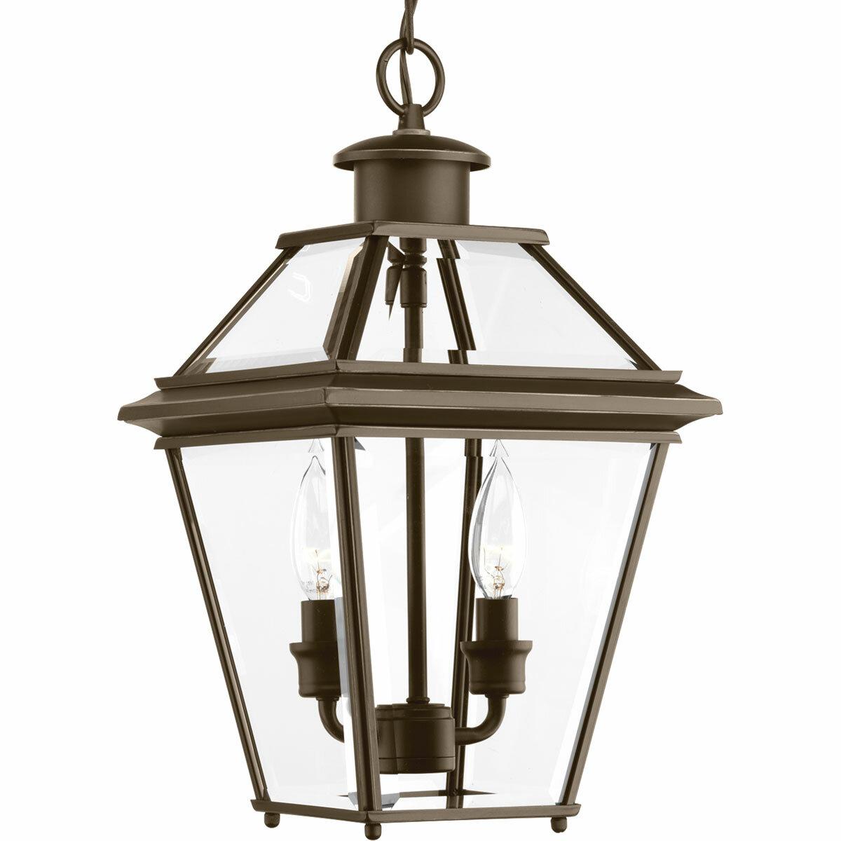 Gunnora 2 Light Outdoor Hanging Lantern