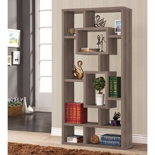 Mccane Rectangular Geometric Bookcase