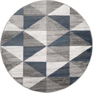 Cudney Sky Blue Area Rug by George Oliver