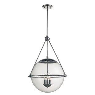 Breakwater Bay Romine 3-Light Globe Chand..