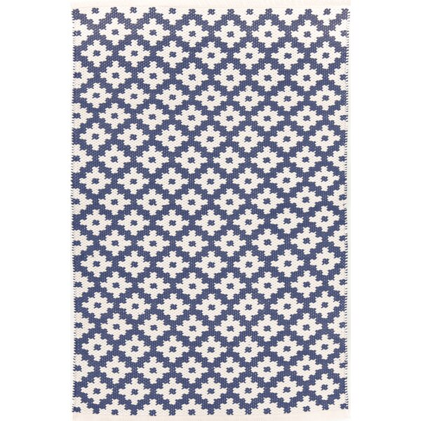 Dash And Albert Rugs Samode H Woven Blue Indooroutdoor Area Rug