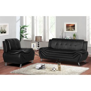 Lizbeth 2 Piece Living Room Se..