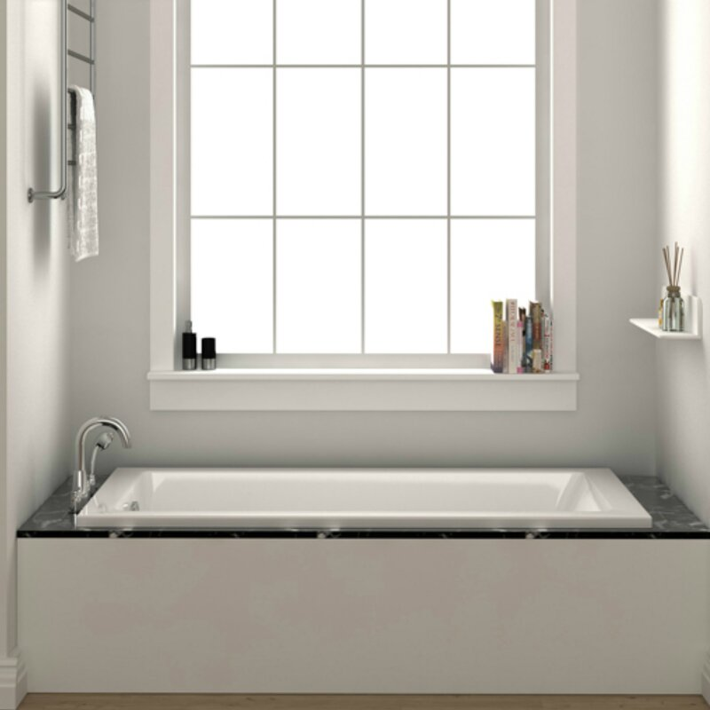 Wayfair Fine Fixtures 48 X 32 Drop In Soaking Bathtub
