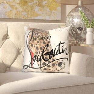 Adriana Go Wild Louboutin Throw Pillow