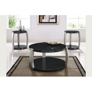 Numan 3 Piece Coffee Table Set By Brayden Studio