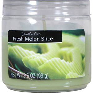 Candle-Lite Fresh Melon Slice Jar Candle (Set of 12)