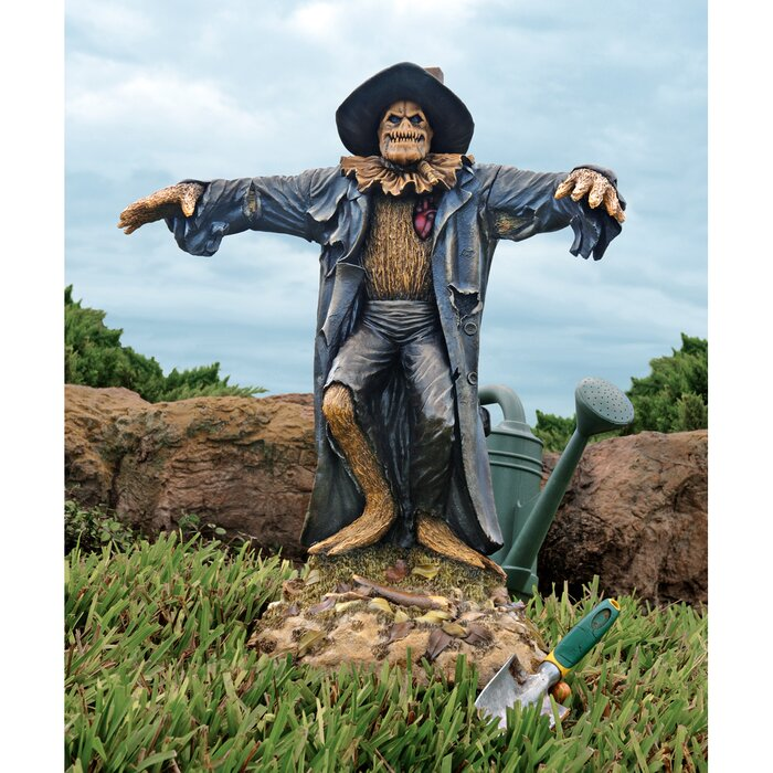Harvest of Evil Scarecrow Statue