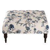 35 Tufted Square Cocktail Ottoman by Wayfair Custom Upholstery™
