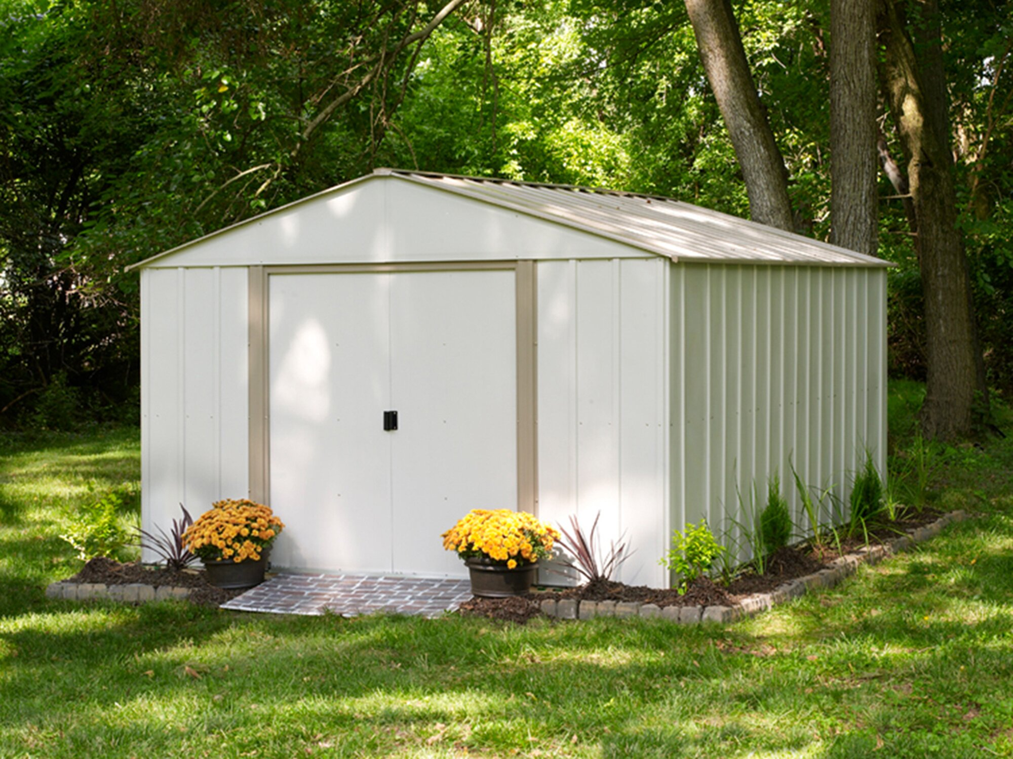 modern sale for steel sheds collections products contemporary garden storage lean shed greenterrahomes contemprorary to