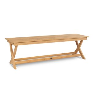 Forest Hill Teak Picnic Bench by Highland Dunes