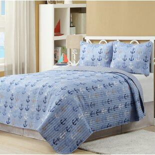 Haggerty Anchor Reversible Quilt Set