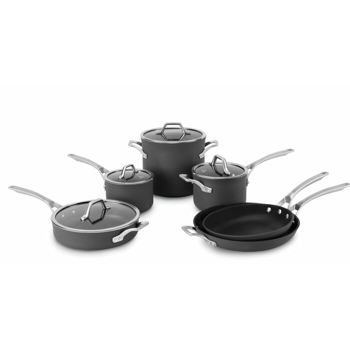 Calphalon Signature™ 10 Piece Nonstick Cookware Set