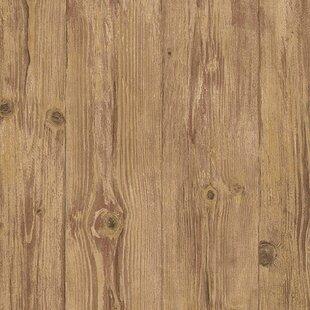 Spruce Hill 33 L X 21 W Wood Wallpaper Roll