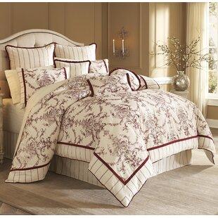 Hidden Glen Comforter Set by Michael Amini