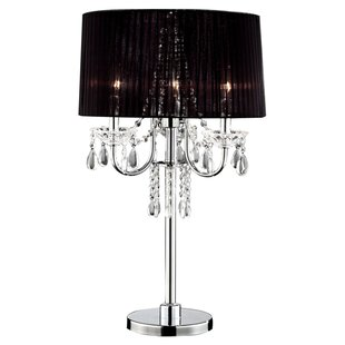 Crystal Drop 27.5 Table Lamp