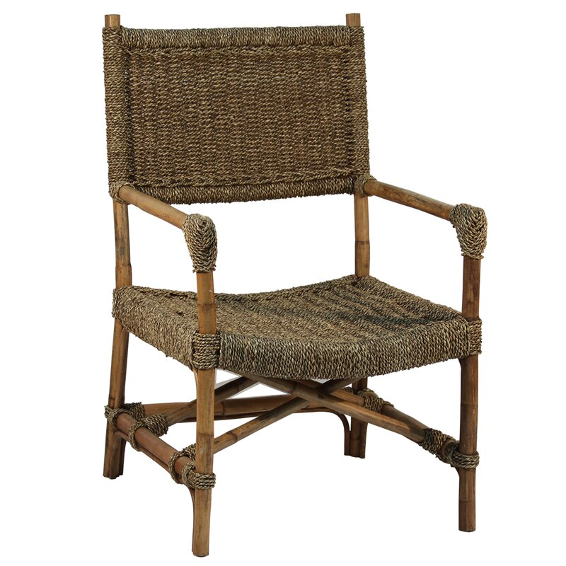 Simple Seagrass Armchair