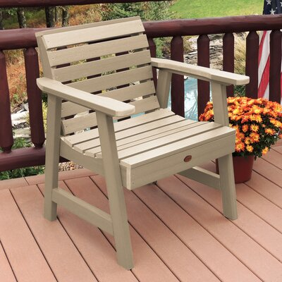 Lietz Garden Patio Chair Darby Home Co Color: Tuscan Taupe