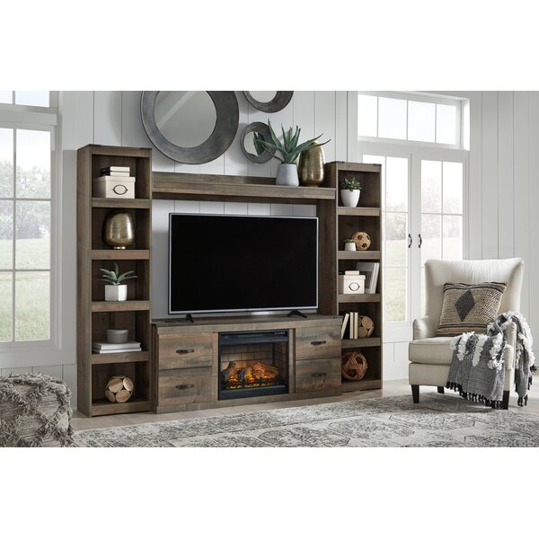 Signature Design by Ashley Trinell Entertainment Center for TVs up