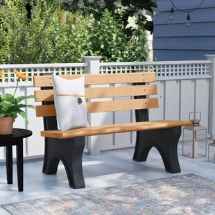 Josephus Recycled Plastic Park Bench by Freeport Park Today Only Sale