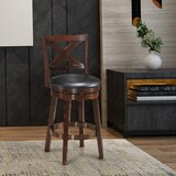 Couto Swivel 24 Counter Stool by Canora Grey