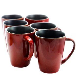 Penitas Luxe Coffee Mug Set Of 6