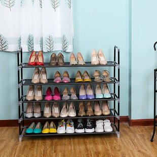 Check Prices 5 Tiers 25 Pair Shoe Rack By Rebrilliant